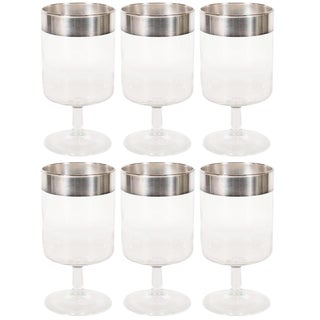 Mid-Century Drinks Glasses by Dorothy Thorpe - Set of 6 For Sale