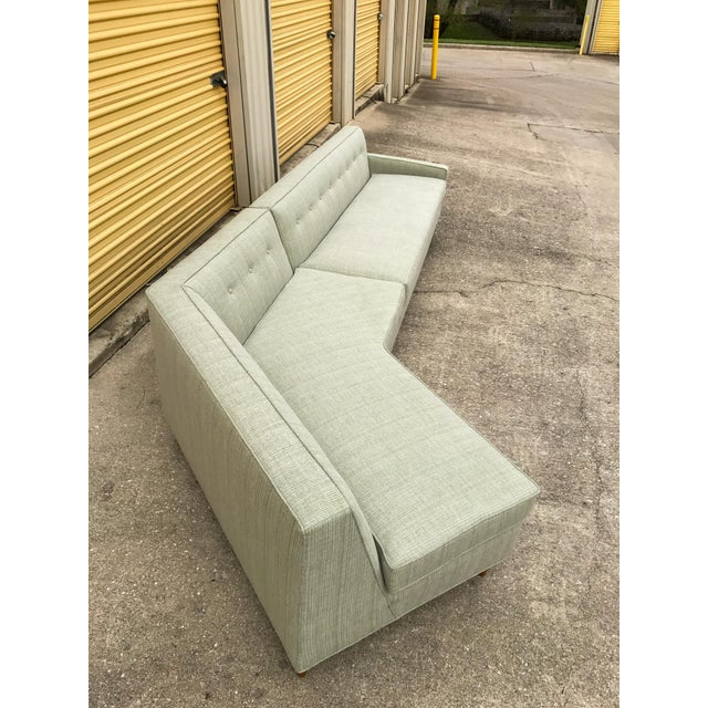 Marden Mid-Century Sectional Sofa - 2 Pieces For Sale - Image 5 of 11
