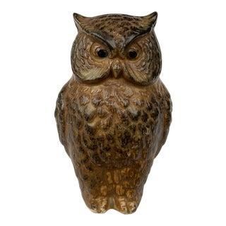 1970s Realism Tiny Owl Figurine For Sale