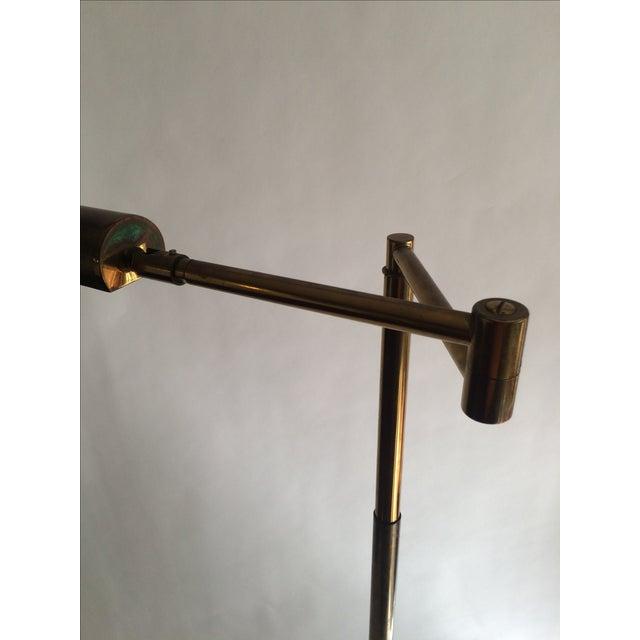 Koch + Lowy Brass Floor Lamp - Image 6 of 9