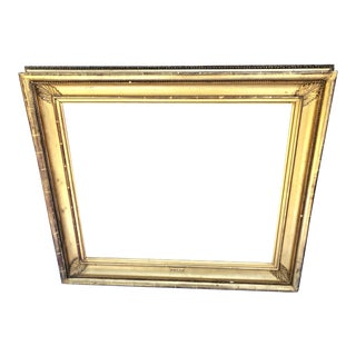 19th Century Gold Leafed Frame For Sale
