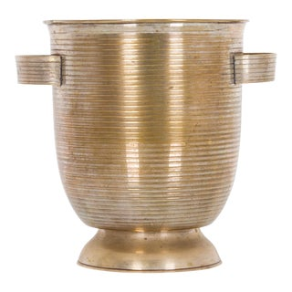 1950s Silver-Plated Ice Bucket For Sale