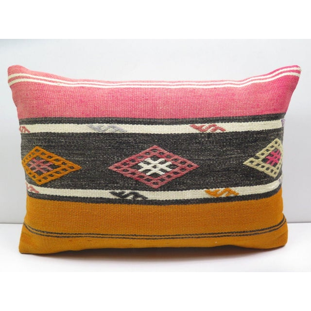 Turkish Kilim Pillow Cover - Image 2 of 3