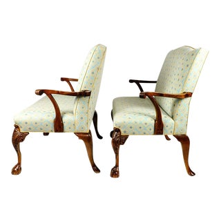 Antique Pair of Settees For Sale