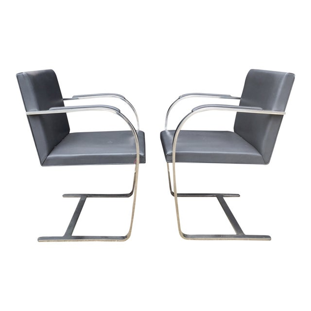 Vintage Mies Van Der Rohe Brno Chairs - A Pair - Image 1 of 6