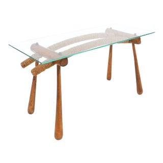 Iconic Modernist Coffee or Side Table by Max Kment, 1955 For Sale