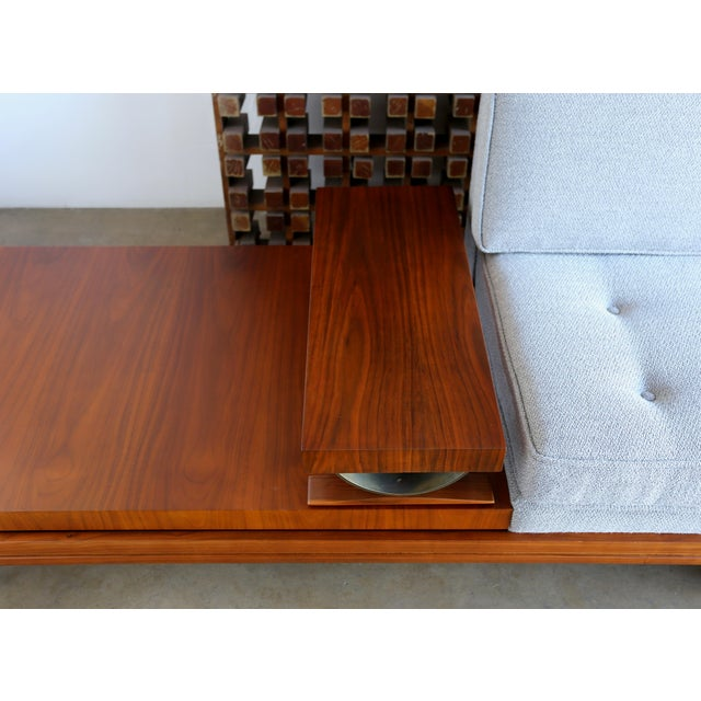 Blue Martin Borenstein Sofa For Sale - Image 8 of 13