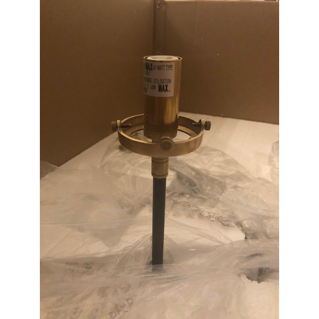Gold Visual Comfort Ian K. Fowler Bistro Medium Chandelier Light For Sale - Image 8 of 9