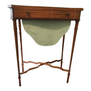 19th Century Edwardian Sewing Table For Sale