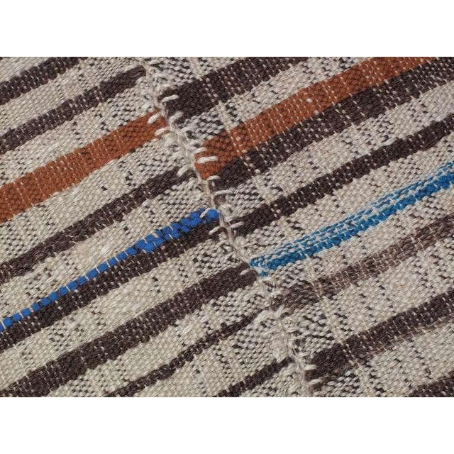 1940s Striped Kilim For Sale - Image 5 of 6