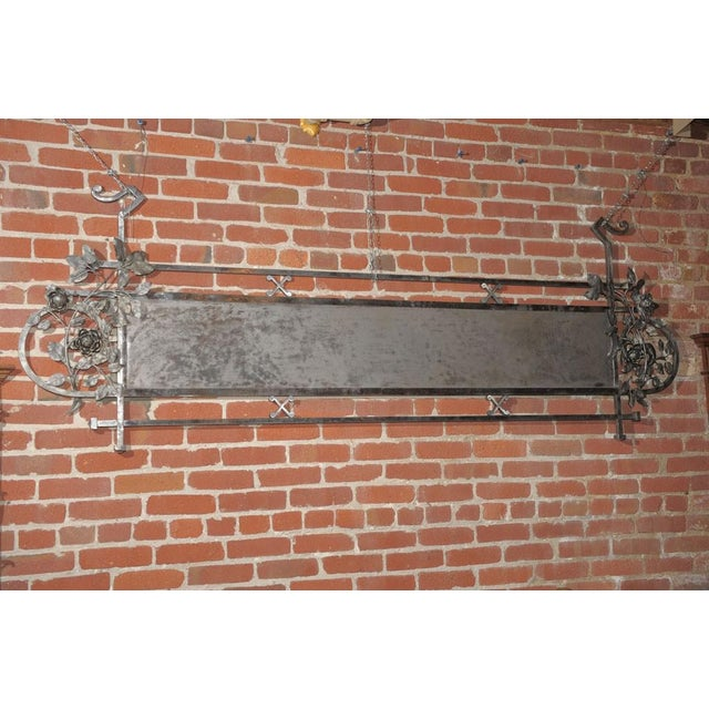 Chromed Iron Hanging Sign - Image 9 of 9