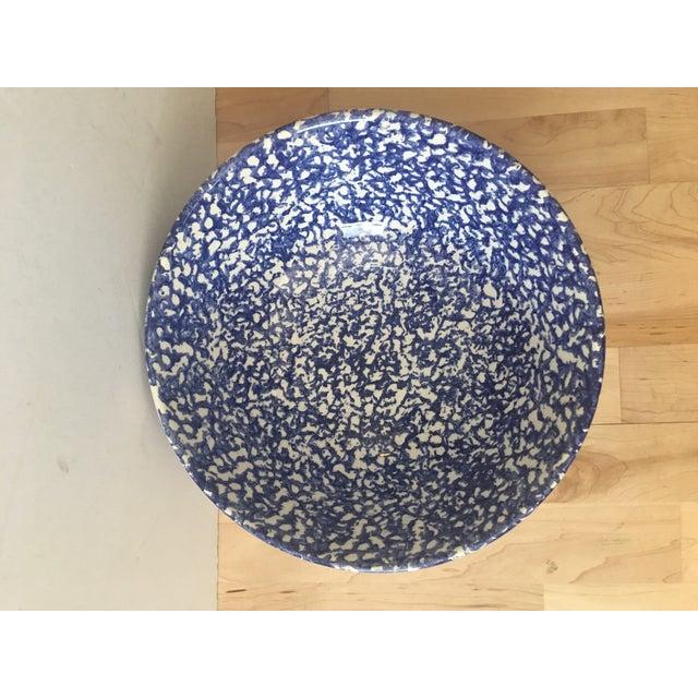 Large Blue & White Bowl - Image 4 of 7