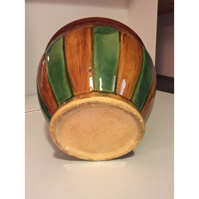 Majolica Vintage Cachepot - medium size For Sale In New York - Image 6 of 6