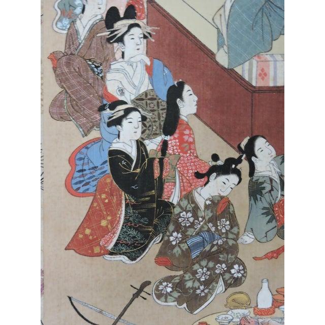 Antique 19th C. Japanese Scroll Painting - Edo Period Kakejiku For Sale In Tampa - Image 6 of 8