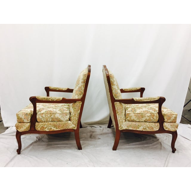 Vintage French Style Arm Chairs - A Pair - Image 8 of 11