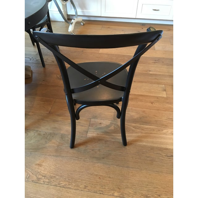 Restoration Hardware Metal Madeleine Dining Chairs Set