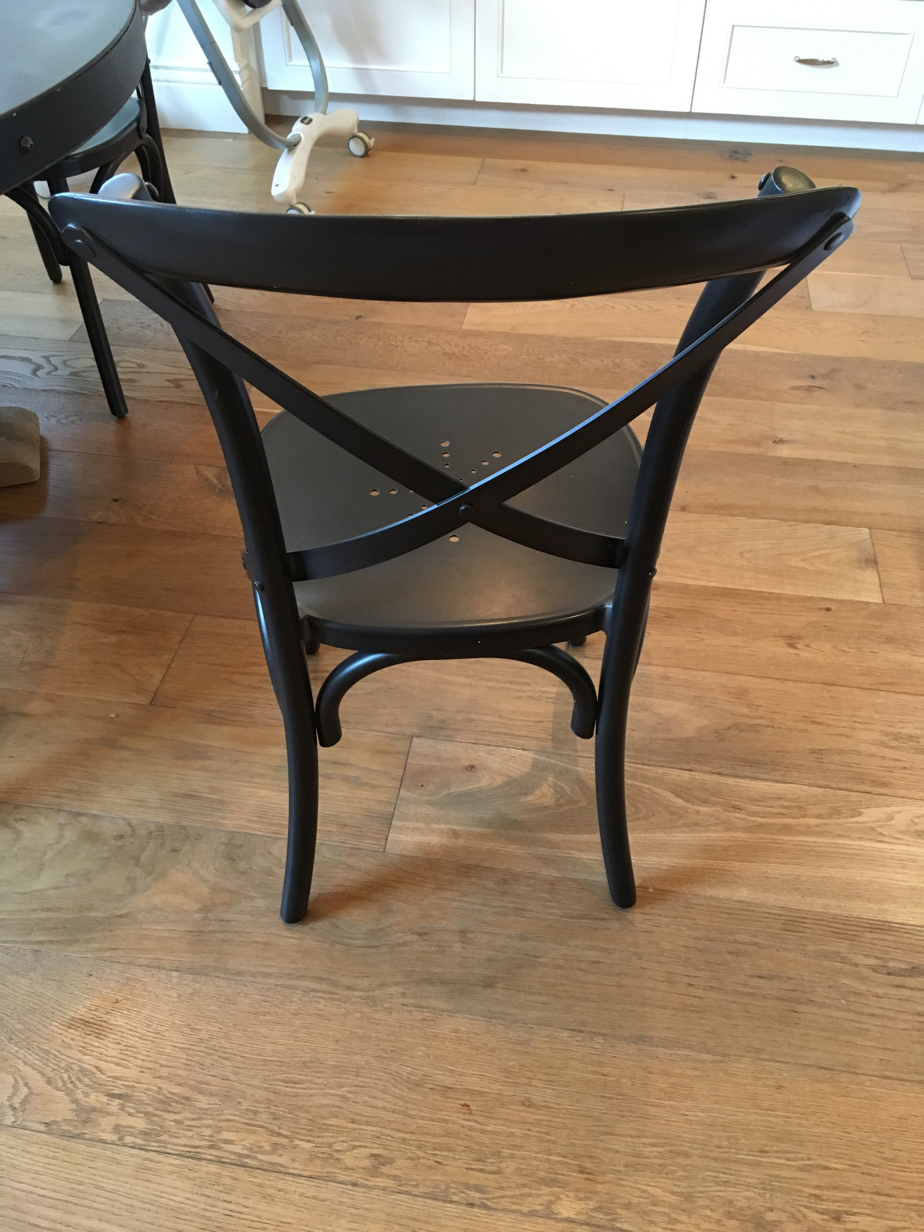 Restoration Hardware Metal Madeleine Dining Chairs   Set Of 6   Image 3 Of 5