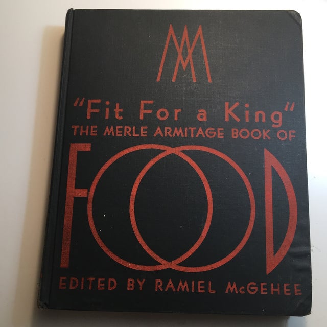 """Fit for a King: Merle Armitage Book of Food"" Book For Sale - Image 11 of 11"