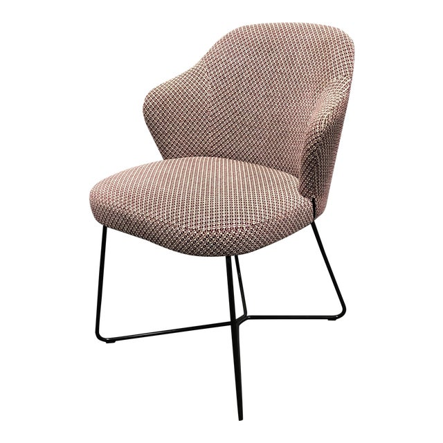 Minotti Rudolfo Dordoni Leslie Side Chair For Sale