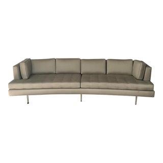 Edward Wormley for Dunbar Tufted Beige Sofa