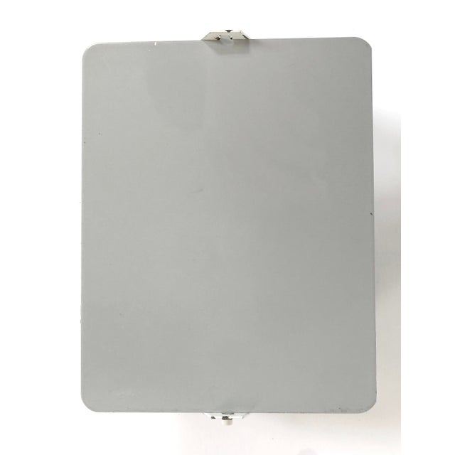 Charlotte Perriand Wall Light -Vintage Grey For Sale In New York - Image 6 of 6