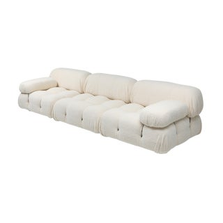 Camaleonda Bouclé Wool Sectional Sofa by Mario Bellini For Sale