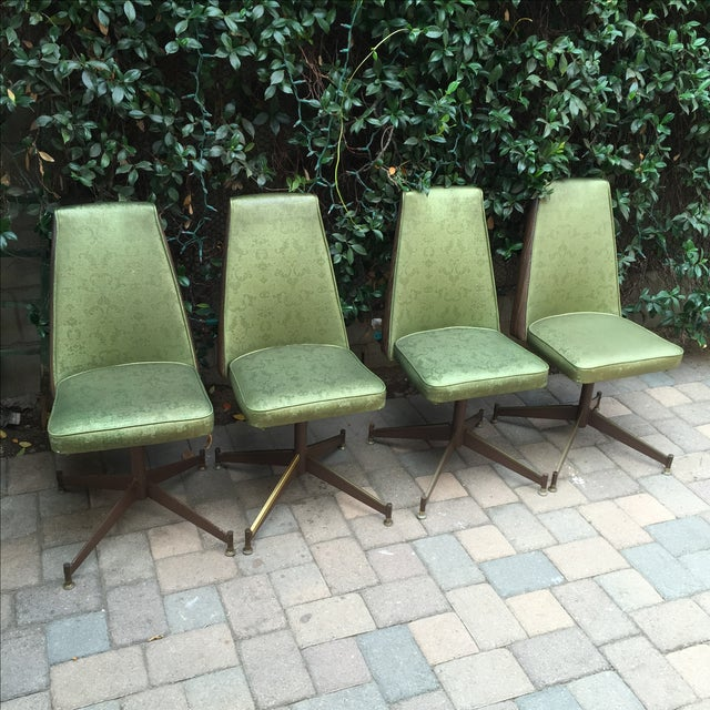 Mid-Century Modern Walter of Wabash Dining Set For Sale - Image 4 of 7
