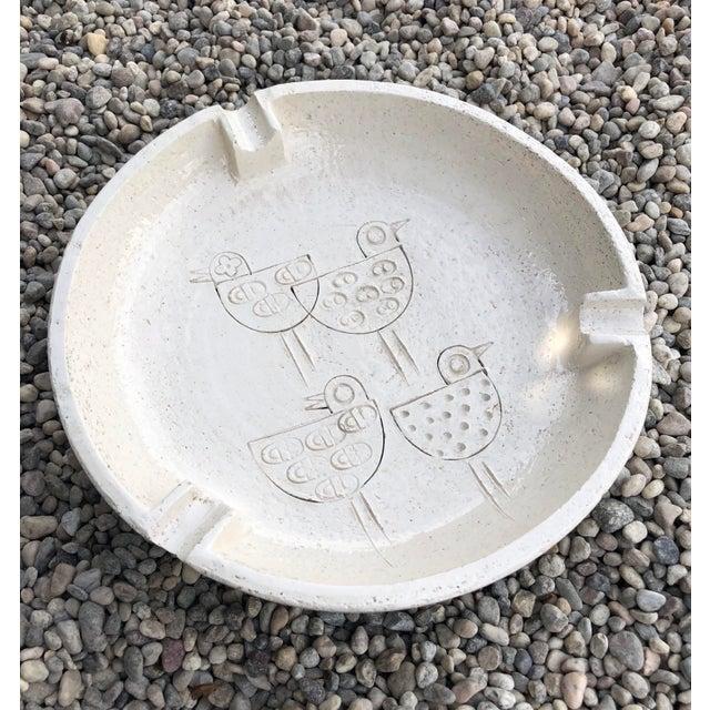 Vintage Mid-Century Modern Italian Ceramic Ashtray by Aldo Londi-Bitossi For Sale - Image 10 of 13