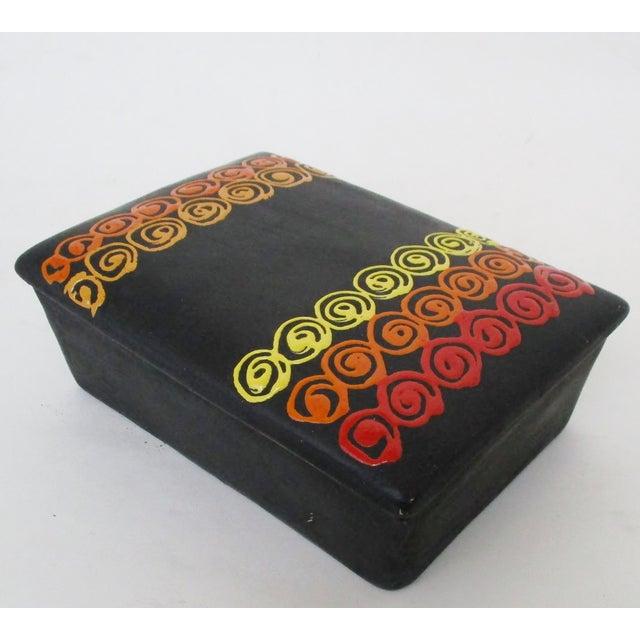 Mid-Century Modern Bitossi Rosenthal Netter Ceramic Box For Sale - Image 3 of 9