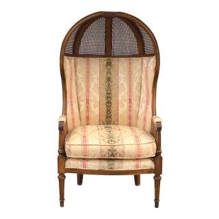 Vintage Unique Aesthetic Movement Wicker Chair