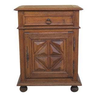 Antique French Chestnut Cabinet