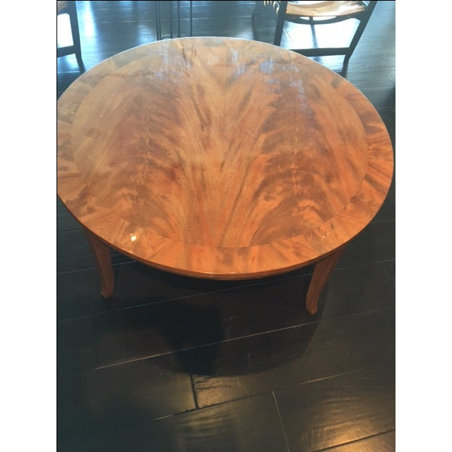 Stunning Round Coffee Table - Image 4 of 8