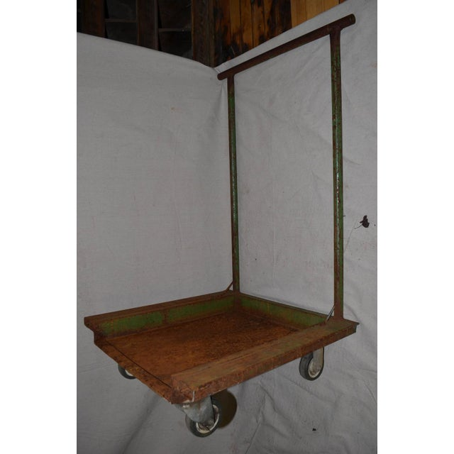 Industrial Fiskars Factory Cart - Image 3 of 8