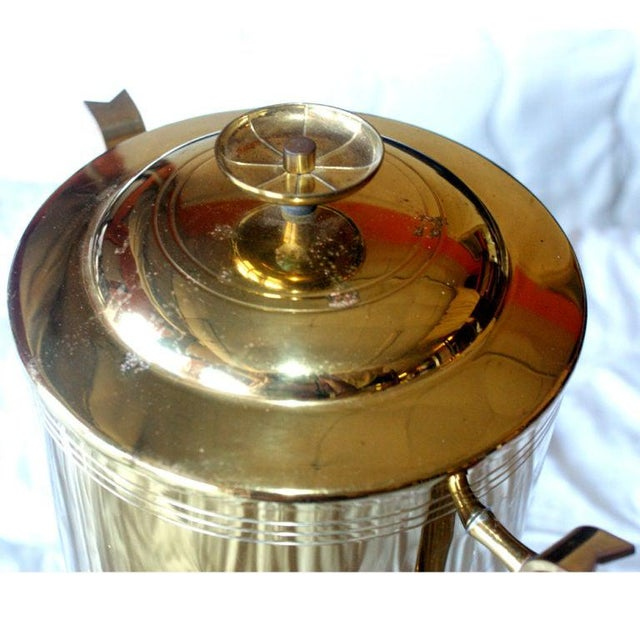 Tommi Parzinger Tommi Parzinger for Dorlyn Silversmiths Coffee Hot Water Urn For Sale - Image 4 of 5