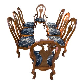 French Dining Chairs - Set of 8 For Sale