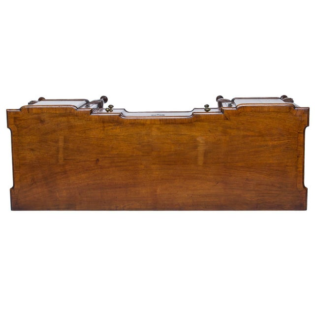 19th Century English Walnut Serving Sideboard For Sale - Image 10 of 11