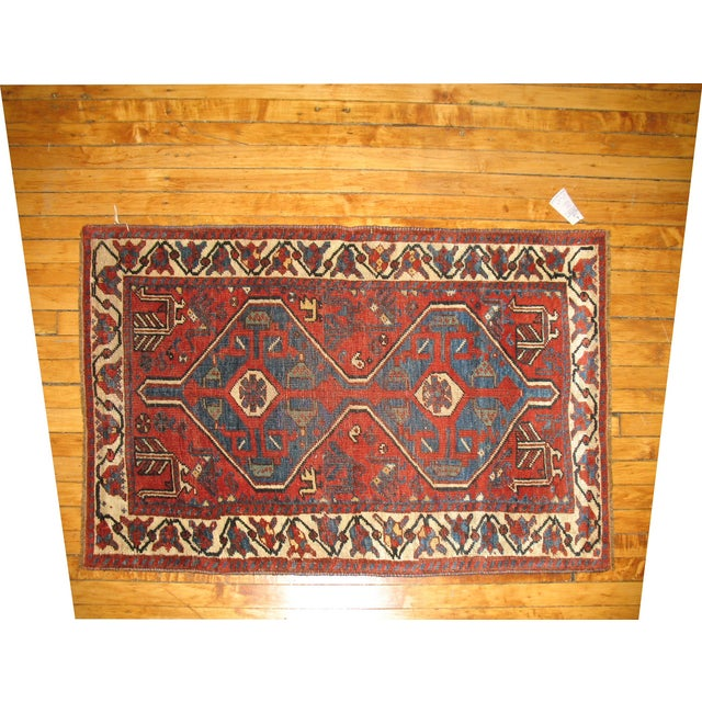 Tribal Persian Rug -- 2'8'' X 4'5'' - Image 2 of 3