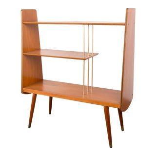 1960s Mid-Century Modern Yugoslavian Small Bookcase For Sale