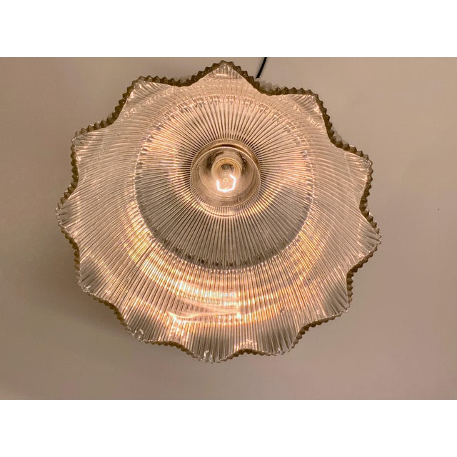 1910s Holophane Semi Flush Light For Sale In Los Angeles - Image 6 of 8