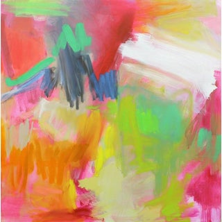 """""""Fanfare"""" by Trixie Pitts Large Abstract Oil Painting"""