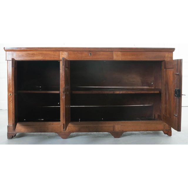French Late 19th Century Walnut Louis Philippe Enfilade - Image 6 of 10