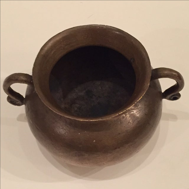 16th Century Bronze Drinking Vessel For Sale - Image 5 of 8