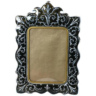 French Enamel Bronze Frame For Sale