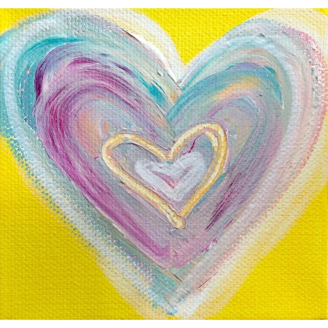 'Summertime Heart' Original Painting by Linnea Heide - Image 1 of 4