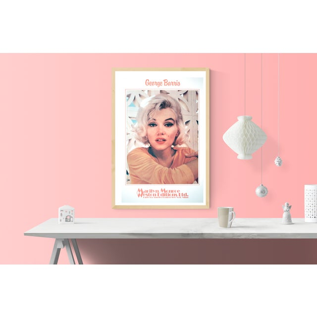 George Barris- Marilyn Monroe- Ethereal Pleasure: This rare, intimate depiction of Marilyn Monroe is by New York born...