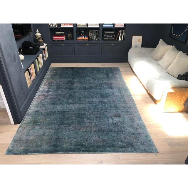 "Abc Home & Carpet Silk Overdyed Rug - 10'7"" X 7'3"" For Sale - Image 10 of 10"