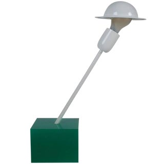 Postmodern Italian Ettore for Stilnovo Memphis Desk Lamp For Sale