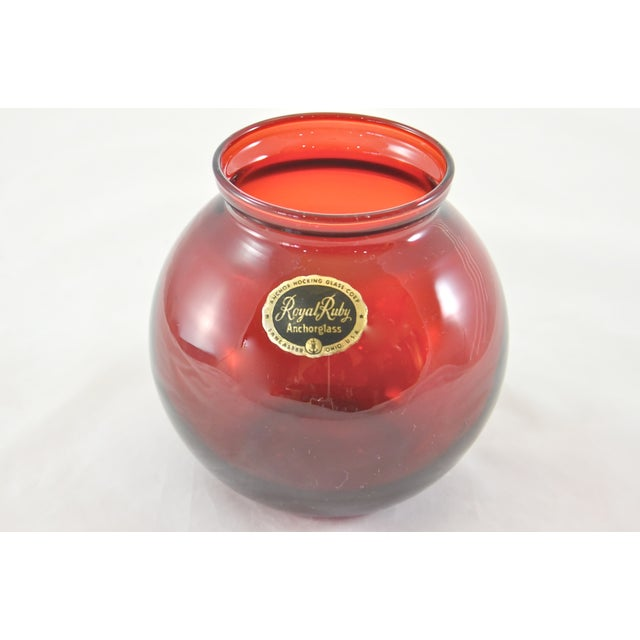 Ruby Red Vases - Set of 3 - Image 6 of 6