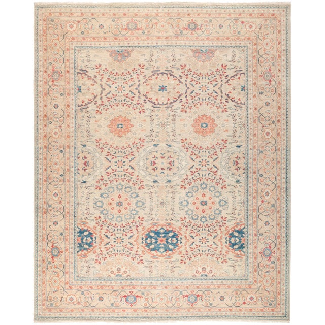 "Ziegler Hand Knotted Area Rug - 8' 0"" X 9' 10"" - Image 4 of 4"