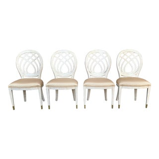 1990's Henredon Side Chairs - Set of 4 For Sale